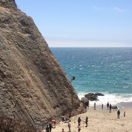 Point Dume Rappelling