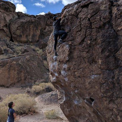 Bouldering in Bishop
