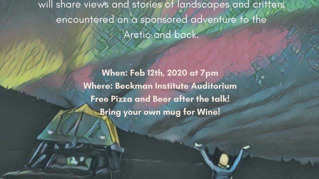 Talk on Eric Burkett's journey to the Arctic
