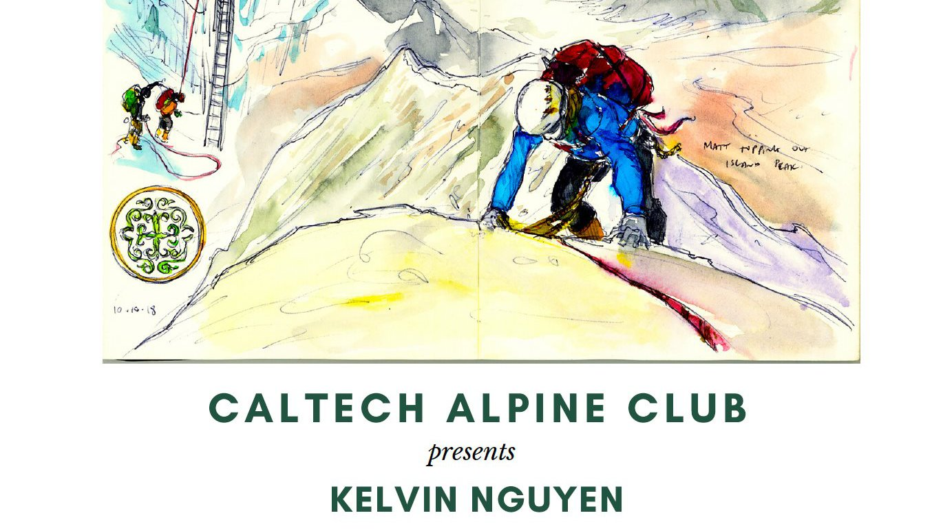 Talk by Kelvin Nguyen on his visual journey to the Himalayas