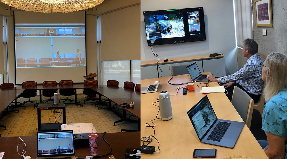 Board Room and Office Space with Meeting Owl Pro