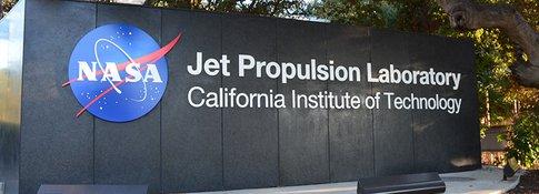 JPL front gate sign