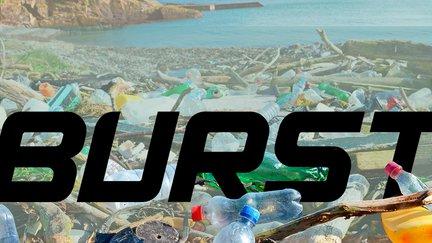 Burst in trash
