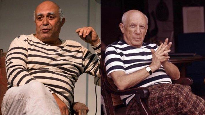 Herbert Sigüenza and Pablo Picasso