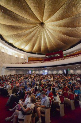 Beckman Auditorium interior