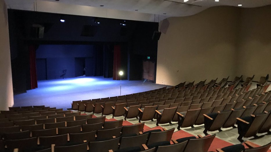 Ramo Auditorium interior