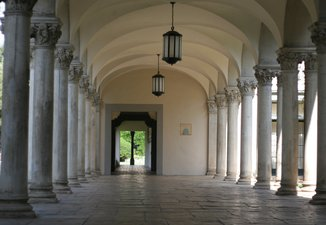Arches and Columns, South Houses