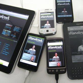 Mobile device farm