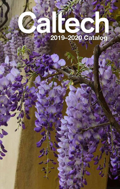 Caltech Catalog 2019-20 cover