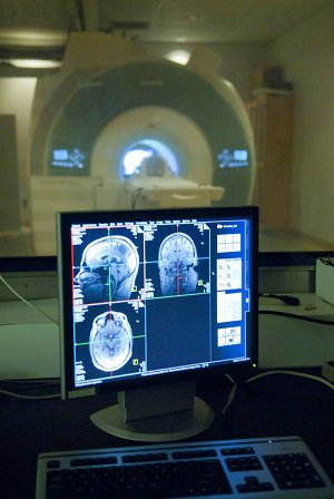 fMRI machine