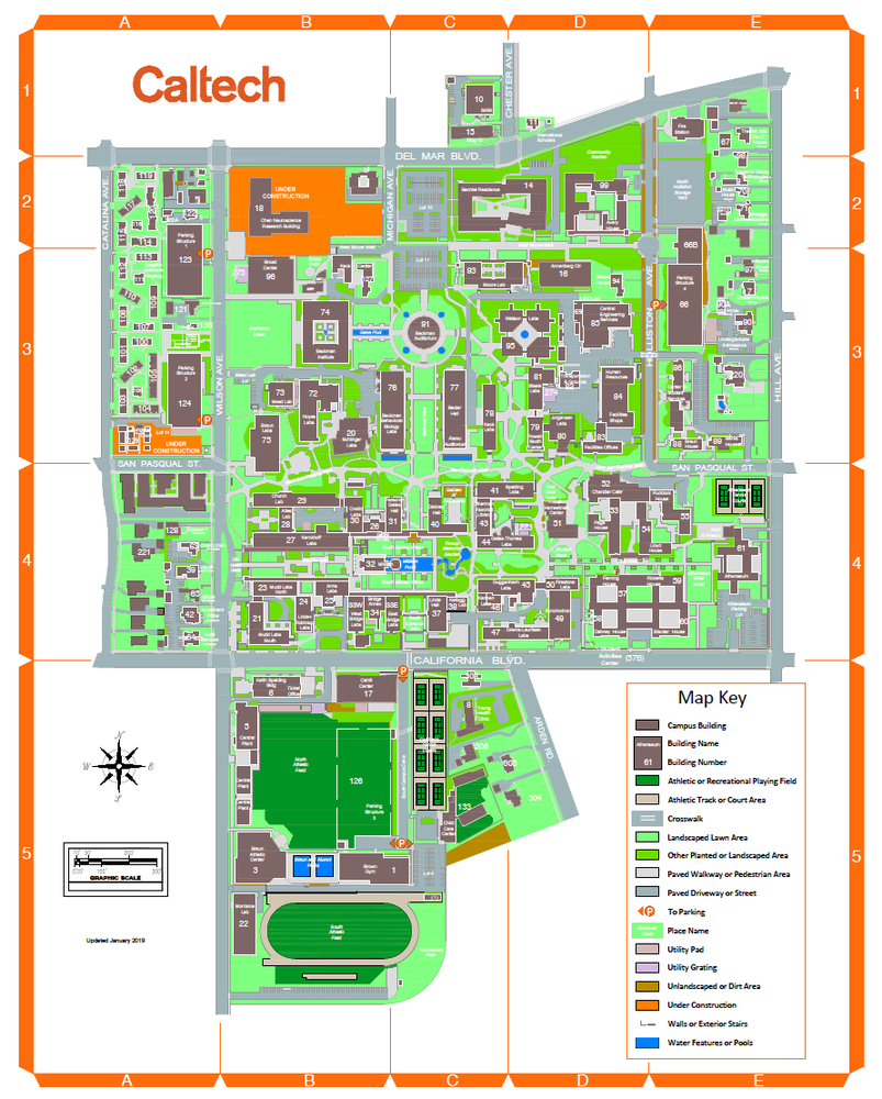 Caltech Map