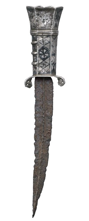 full dagger side image - white BG