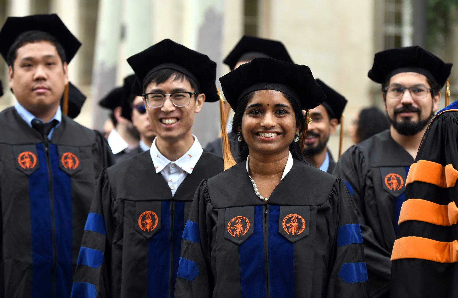 Image of students at Commencement.