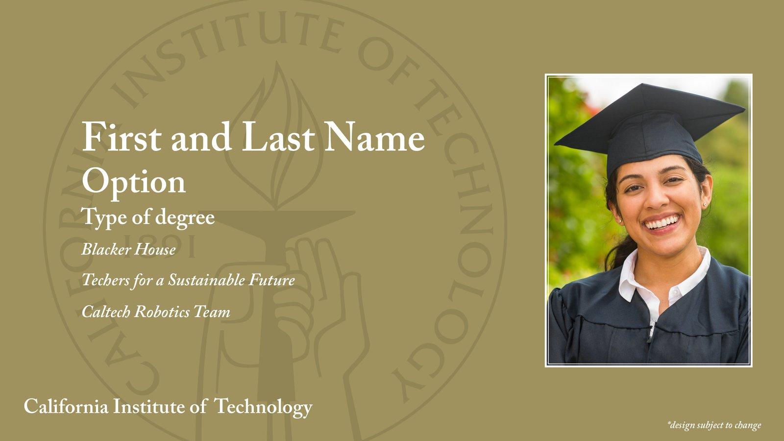 sample graduate slide