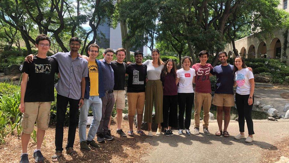 summer undergraduate researchers
