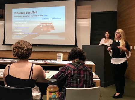 CPA 3rd workshop - slide reflected best self
