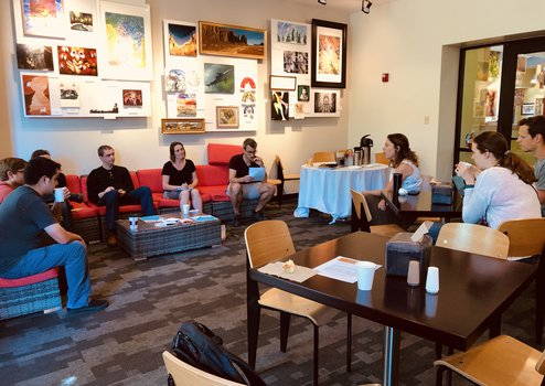 Coffee and career with Erin Burkett, PhD, 04/09/2019