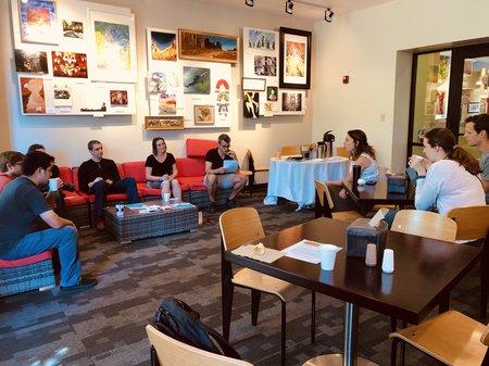 Coffee and career with Erin Burkett, PhD, 04/09/2019