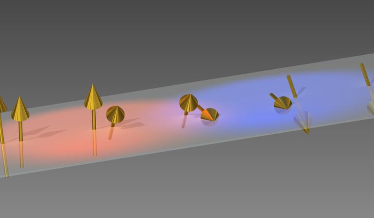 MnP spin electron ensemble