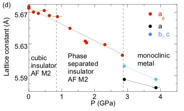 NiS2 phase diagram