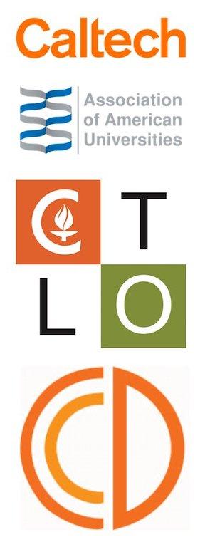 Caltech Inclusive Caltech Core logos
