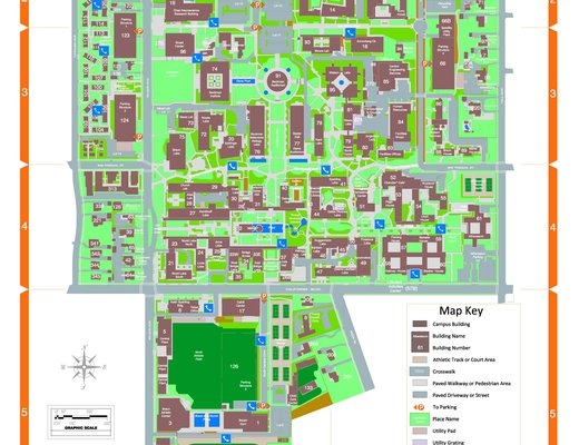 2021 Campus Map