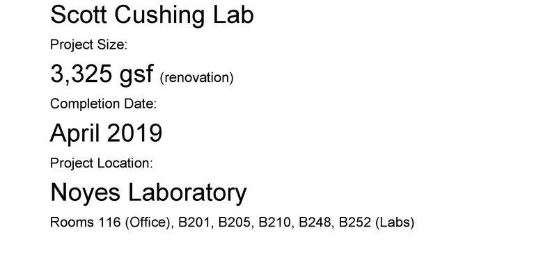 Cushing Lab Outline