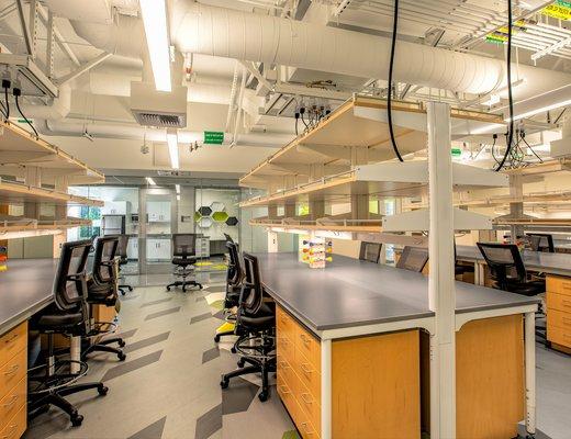 BBB 2nd floor, Prof. Parker lab