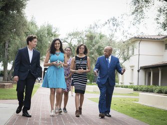 John Lewis and Caltech Students 2018