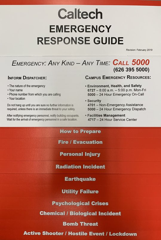 Emergency Response Guide