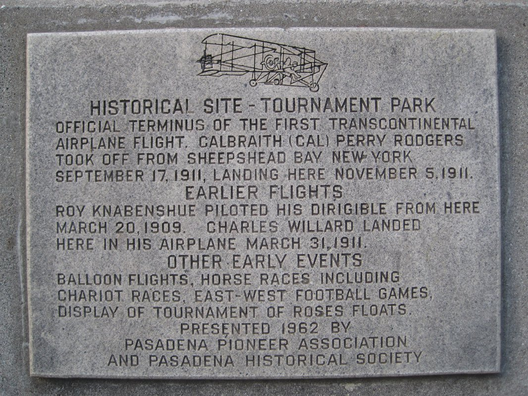 Tournament Park historical marker