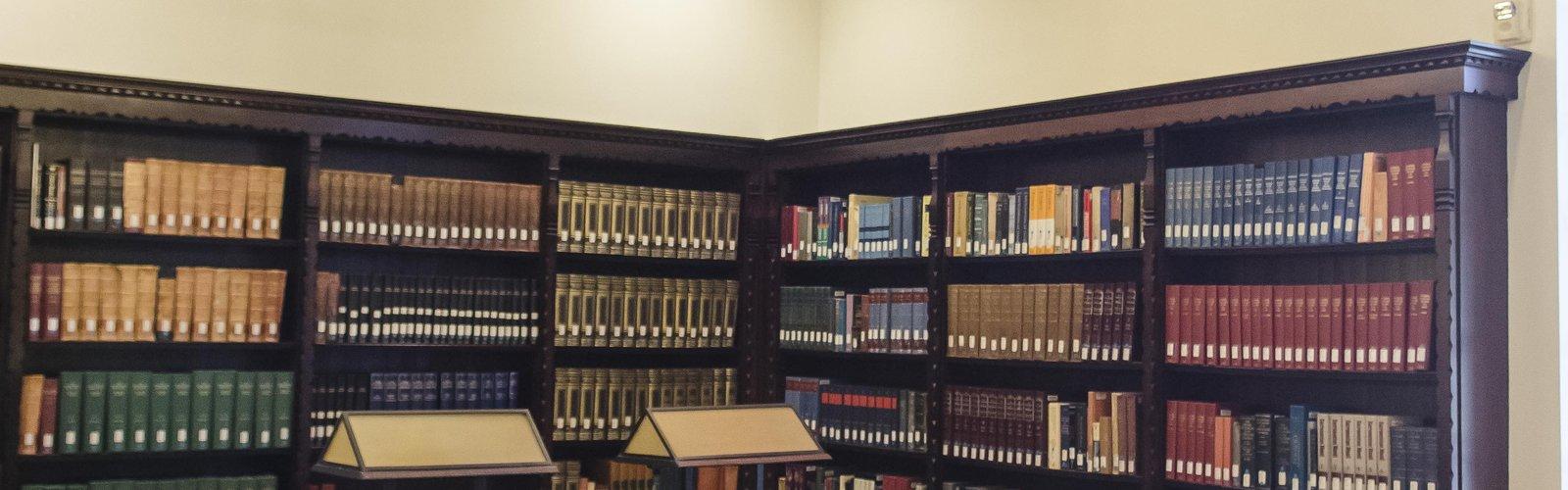 Dabney 1st floor librart