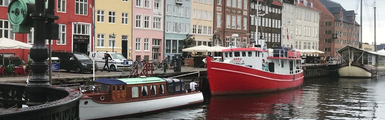 Boats in Copenhagen