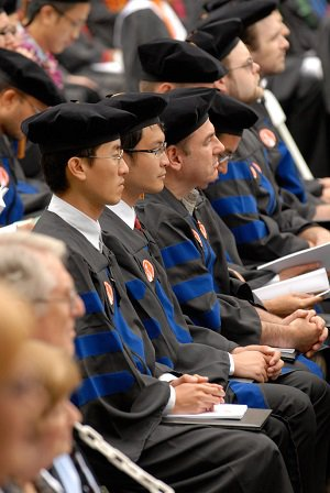 PhDs at a Caltech Commencement