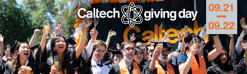 Save the Date for Caltech Giving Day