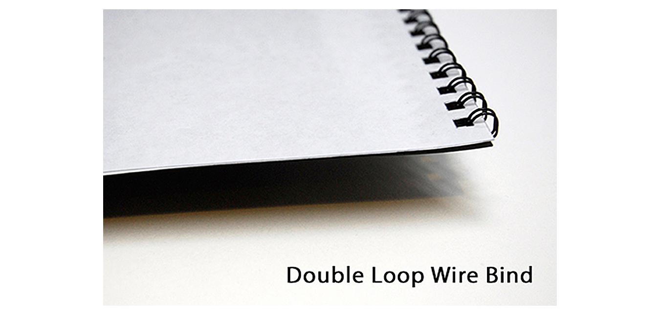 Double Loop Wire Binding