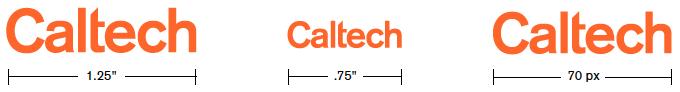 Logo Minimum Sizes