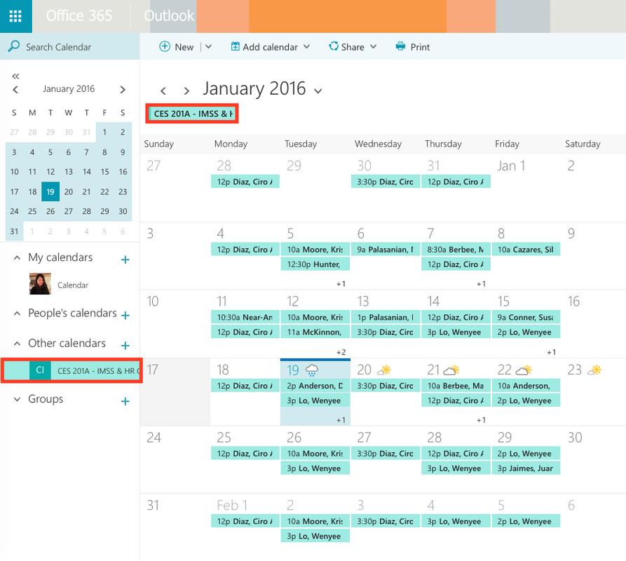 Shared Calendar 4