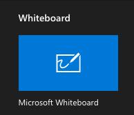 whiteboard app in Teams