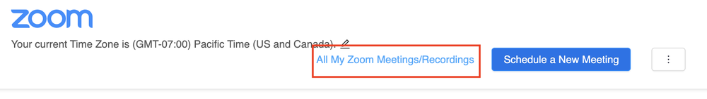 canvas zoom integration all meetings selection