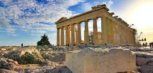 Parthenon in Greece