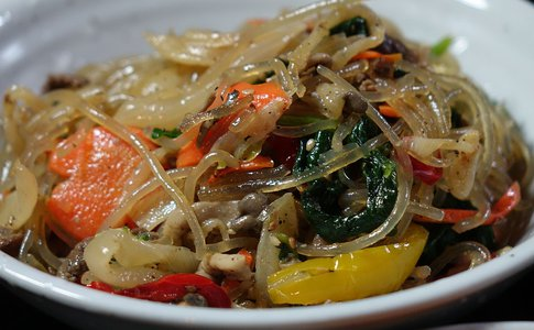 Stir Fried Glass Noodle
