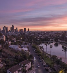 Los Angeles aerial shot