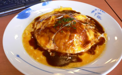 Plate of Omurice