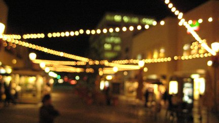 Old town Pasadena at Night