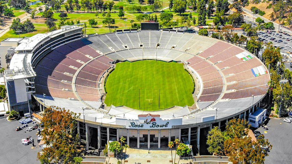 Rose Bowl Ariel View