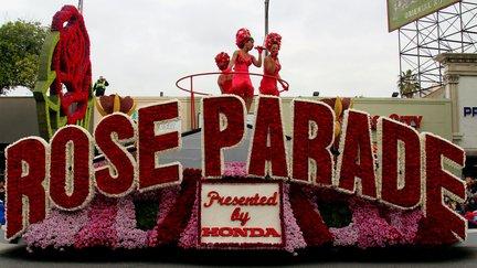 float at rose parade