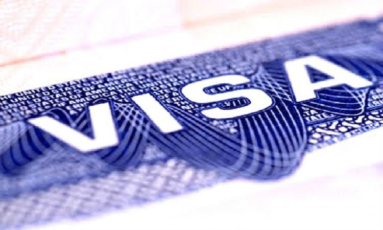 Picture of US visa