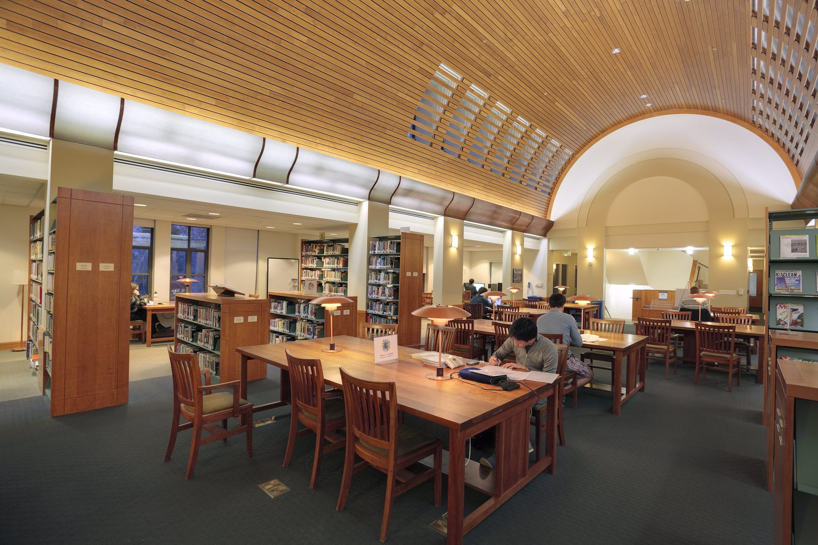Library in the Fairchild building