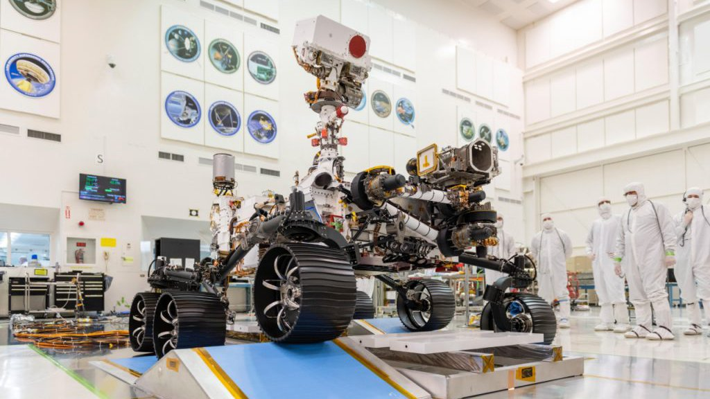 Picture of the Mars Perseverance Rover